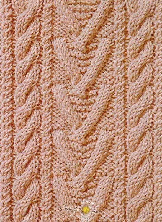 Pynių mezgimo virbalais schemos