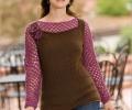 Autumn Rose Pullover
