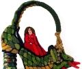Irene Reed Dragon Handbag